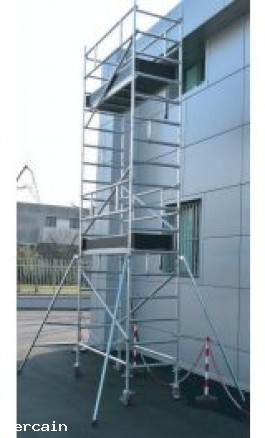 Ponteggio in Alluminio UNI EN1004 h530m ALPO7530F