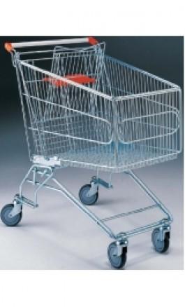 Carrello da Supermercato Self Service Spesa Cargo 80 litri