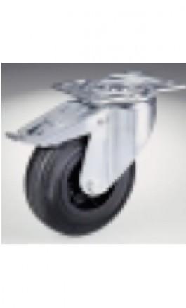 Ruota Plastica Staffa Rotante Freno d100x30 Kg71 SCP1002F