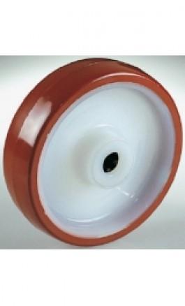 Ruota Nylon Rivestimento Poliuretano Gabbia a Rulli d150x40