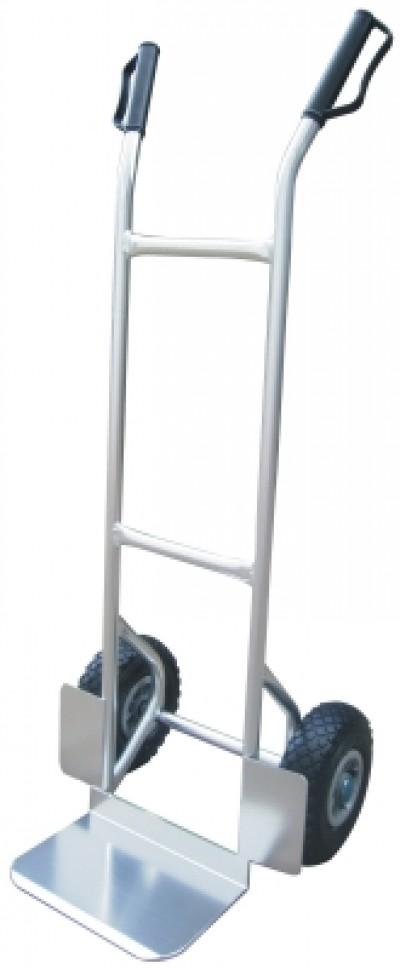 Carrello in Alluminio Portatutto Ruote Pneumatiche Kg150 HT200AF
