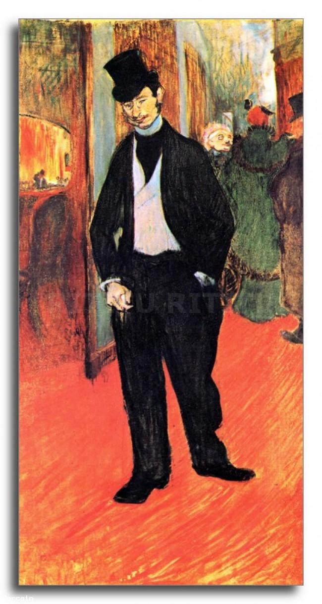 Riproduzione Artistica Dr Tapia de Celeyran di Toulouse Lautrec
