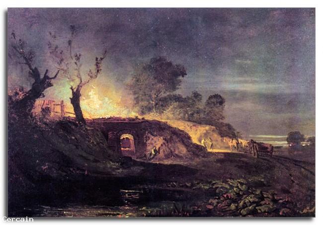 Riproduzione Artistica Coalbrookdale di Joseph Mallord Turner