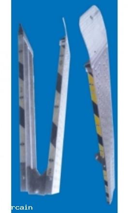 Rampe di Carico Pieghevole in Alluminio pz2 m20x02 Kg400