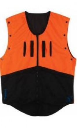 Giubbotto proteggi Imbracatura Arancione tasche laterali 017912F