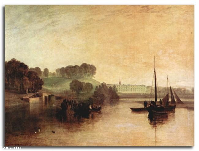 Riproduzione Artistica Petworth Sussex di Joseph Mallord Turner