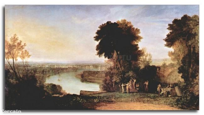 Riproduzione Artistica L arpa suonata da Thompson di Joseph Mal