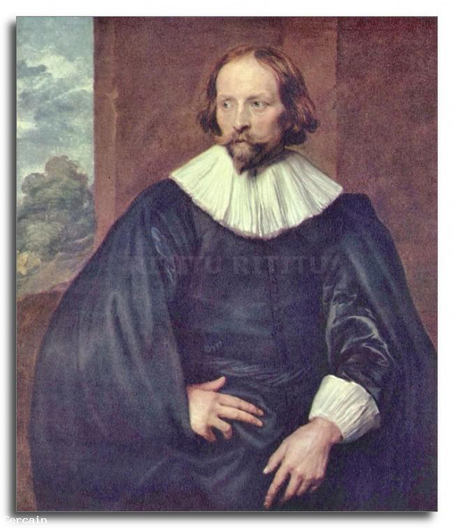 Riproduzione Artistica Ritratto di Simons Quintijn di Van Dyck