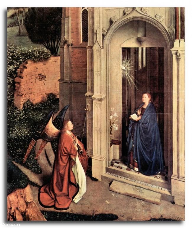 Riproduzione Artistica Proclamazione Di Jan Van Eyck