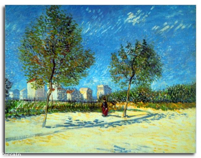 Riproduzione Artistica Periferia Di Van Gogh