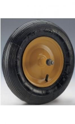 Ruota Pneumatica per Carriola Disco in Ferro d350 Cuscinetti