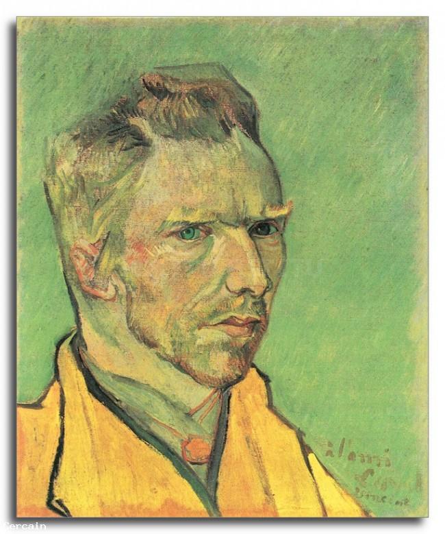 Riproduzione Artistica Autoritratto 75792 di Van Gogh