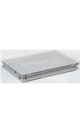 Cassa Plastica Sovrapponibile 15lt 60x40x75hcm Chiusa NB15V1F