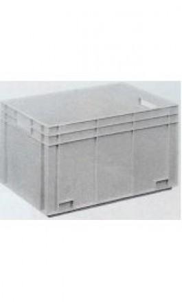 Cassa Plastica Sovrapponibile 70lt 60x40x34hcm Chiusa NB70V1F