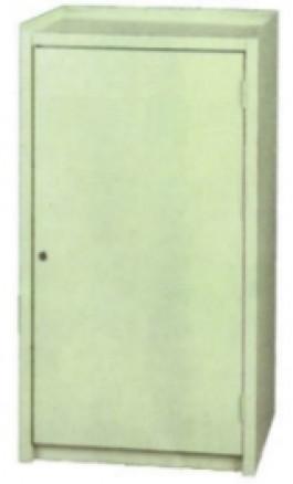 Armadietto portautensili in Ferro 500x450xh1000 GRIGIO 660F