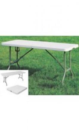 Tavolo con piano e gambe pieghevoli cm152x76xh74 ArtCZ152FF