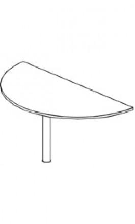 Penisola semicircolare x Tavoli Consigliari Diam166cm PM16F