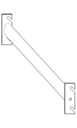 Barra Ovale per Appenderia e Fissaggio Scaffalatura cm106 2003F