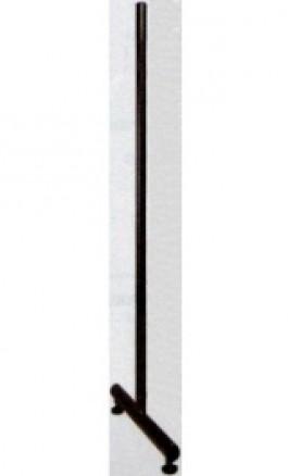 Base per griglia espositiva con piedini regolabili cm100x400 modBG
