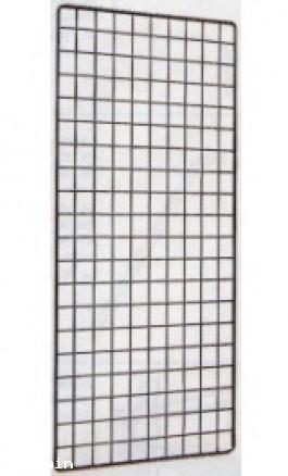 Griglia Espositiva a doppio Filo Metallico 40x100cm modGRDF40100BF